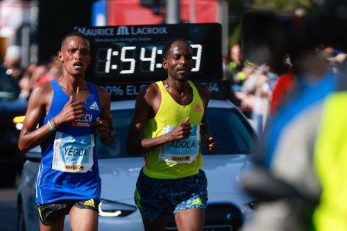 Adola gewinnt Berlin-Marathon - Weltrekord außer Reichweite