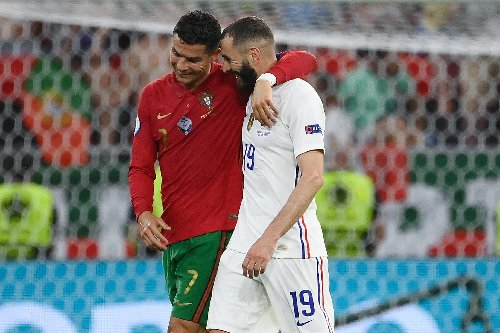 Benzema und Ronaldo gratulieren sich zu EM-Doppelpacks