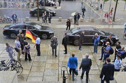 Merkel hält ihre voraussichtlich letzte Rede im Bundestag