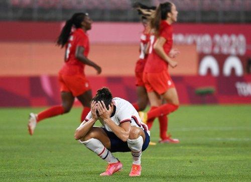 Fußball : US-Stars um Rapinoe scheitern im Halbfinale an Kanada