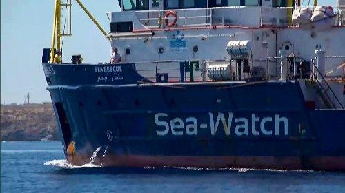 Verfahren gegen deutsche Seenotretterin Rackete in Italien eingestellt