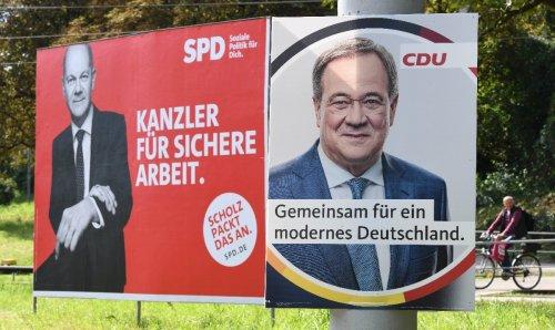 """""""Politbarometer"""" : Union kann Rückstand auf SPD leicht verkürzen"""