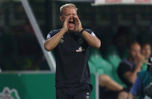 Elfmeter in der Nachspielzeit : Bremen gewinnt in Düsseldorf