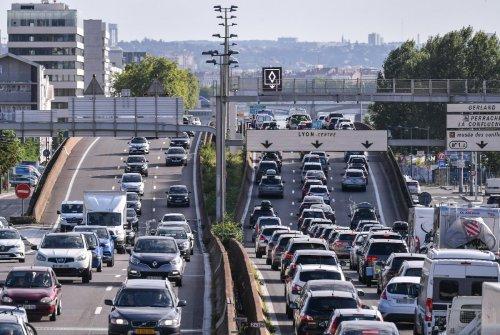 Mehr als tausend Kilometer Stau auf Frankreichs Autobahnen