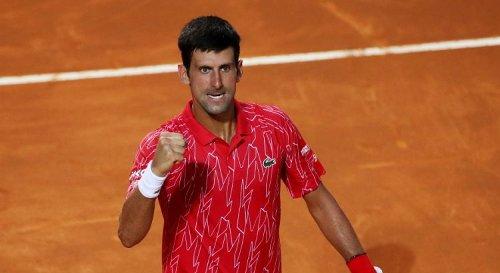 ATP - Rome : Le tableau