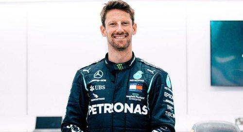 GP de France : Des démonstrations et des essais pour Grosjean avec Mercedes
