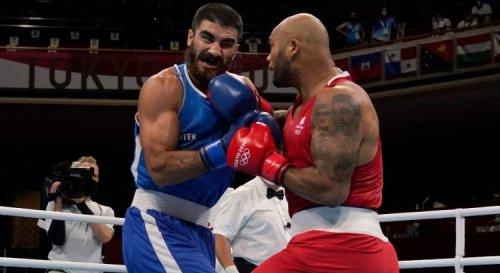 Boxe (Poids super-lourds/H) : Disqualification d'Aliev en quarts de finale