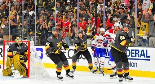 Hockey sur glace - NHL (play-offs) : Las Vegas prend les devants