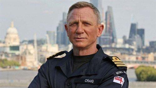 Daniel Craig a désormais le même grade que James Bond