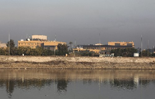 Rockets fired at US embassy in Iraq after attacks on bases
