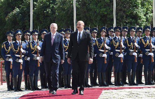 Erdogan vows support for Azerbaijan in case of attack
