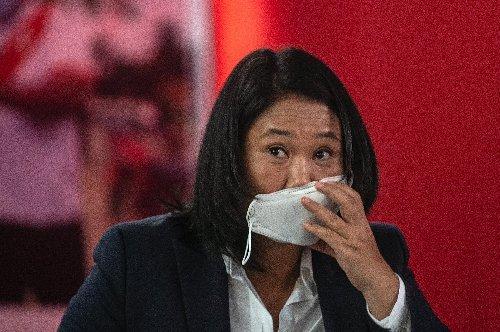 Presidential hopeful Fujimori repeats Peru vote fraud claims
