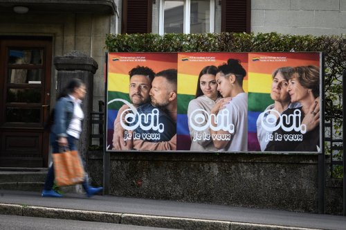 Gay marriage move a giant step for Switzerland