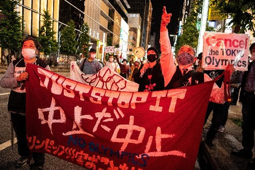 Over 80 percent in Japan oppose Olympics this year : poll
