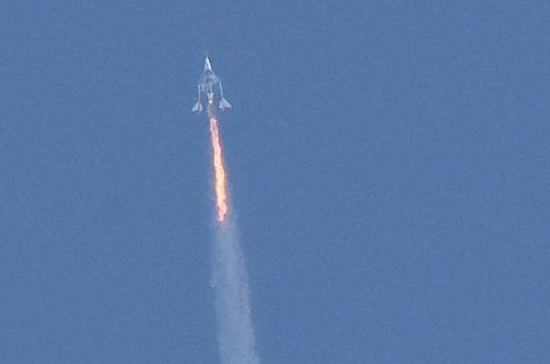 Environmental concerns grow as space tourism lifts off