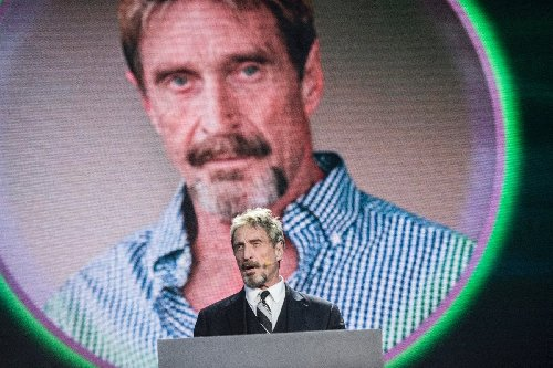 McAfee founder found dead by suicide in Spanish jail : prison official
