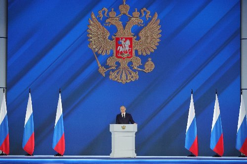 Putin warns West against crossing 'red line' with Russia