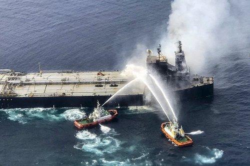 Sri Lanka seeks $17 million from Greek ship owner over oil spill