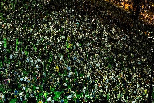 Hong Kong activists plead guilty over banned Tiananmen vigil