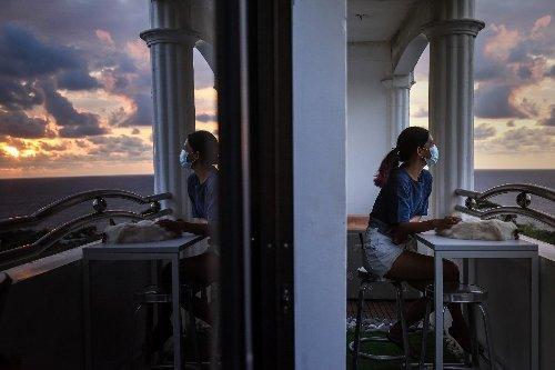 Digital nomads flee virus-hit Manila for shattered tourist towns
