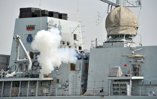 UK warship makes first Taiwan Strait transit since 2008