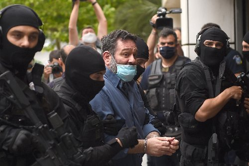 Greek far-right MEP in Athens after Belgian extradition
