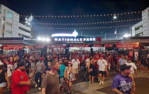 Three people shot outside baseball stadium in US capital