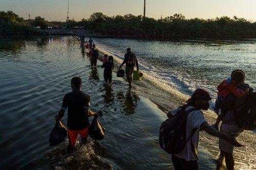 US to step up deportation flights for migrants stranded at Texas bridge