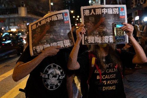 Hong Kong's Apple Daily paper slams 'tyranny' in final edition