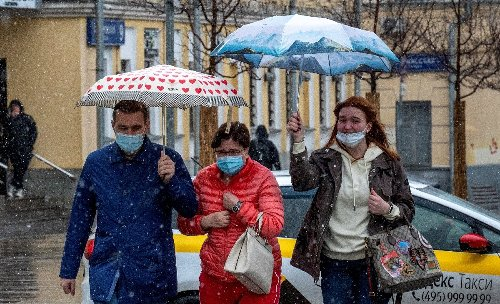 Moscow announces 'non-working week' as virus surges