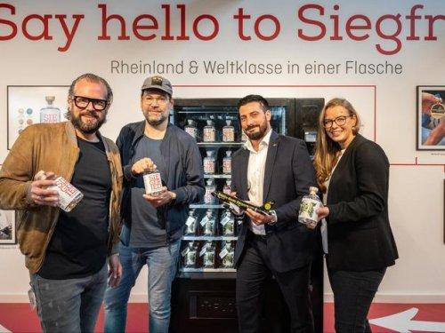 Am Flughafen Köln/Bonn gibt es Gin zum Mitnehmen – aus dem Automaten