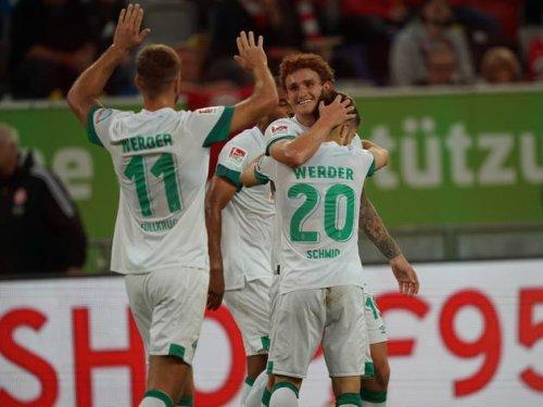 Fehlstart abgewendet: Werder jubelt in Düsseldorf nach dramatischer Nachspielzeit