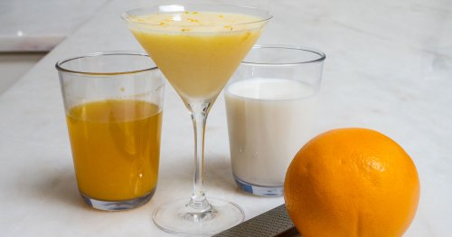 Orange Creamsicle Cocktail | A Creamsicle Drink for Grown-Ups