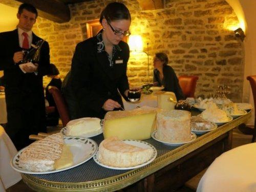Dinner at Maison Lameloise in Burgundy