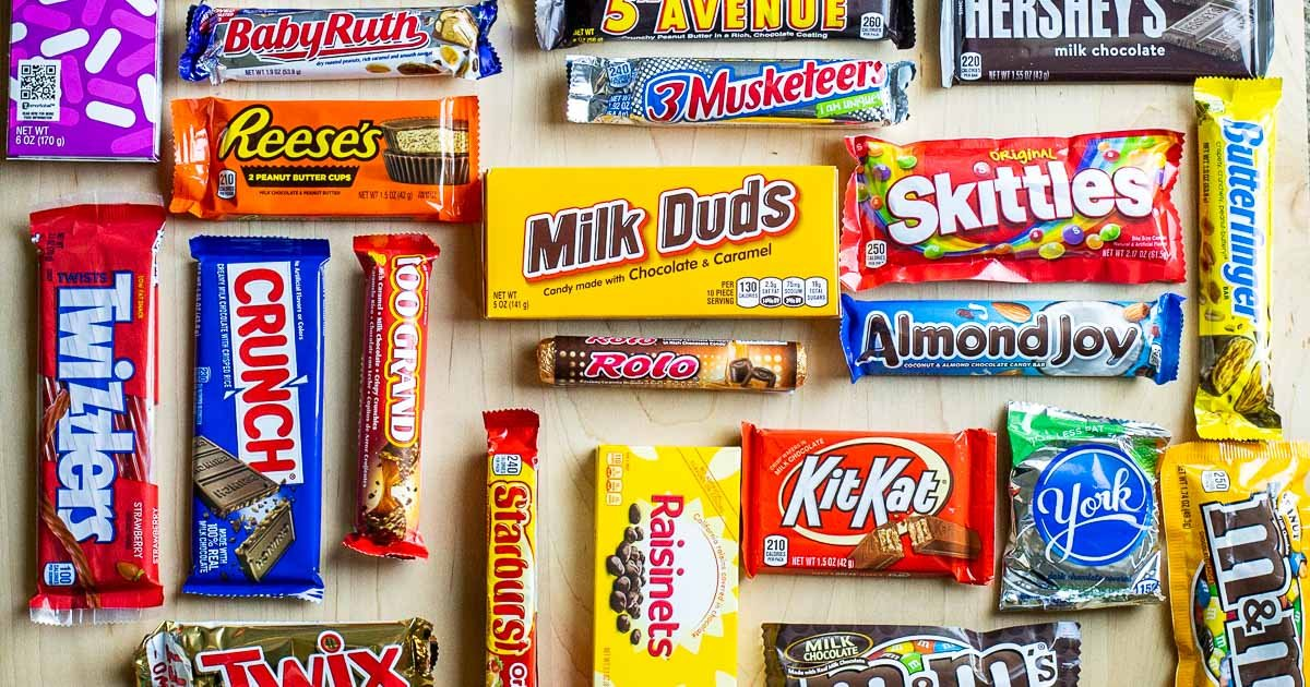 40 American Candy Favorites