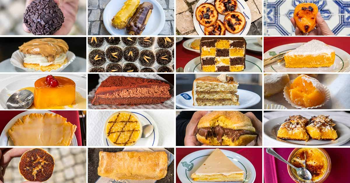 The 33 Best Portuguese Desserts and Pastries