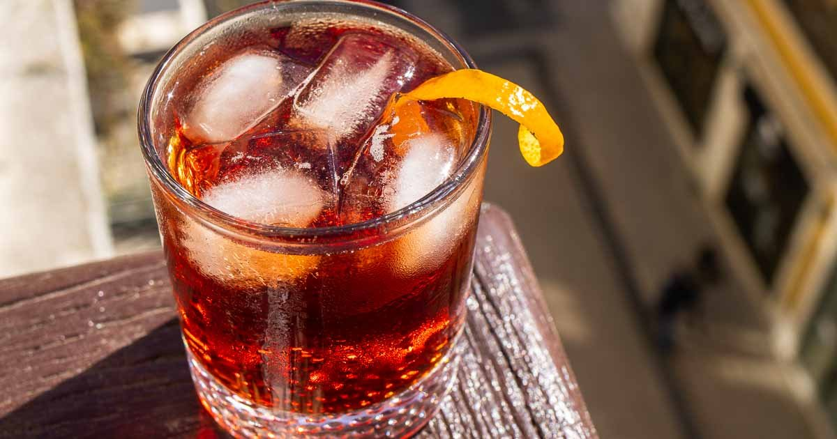 Americano Cocktail | The Classic Italian Cocktail with a Nod to America