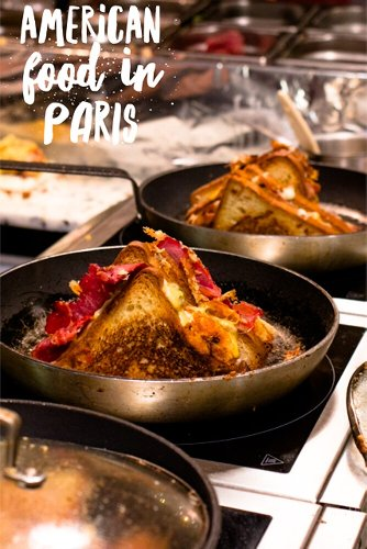 American Food in Paris