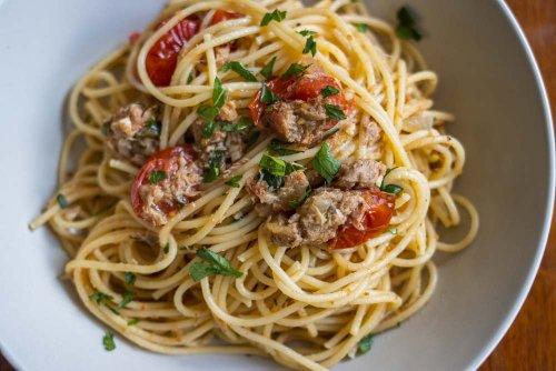 Healthy Tuna Pasta