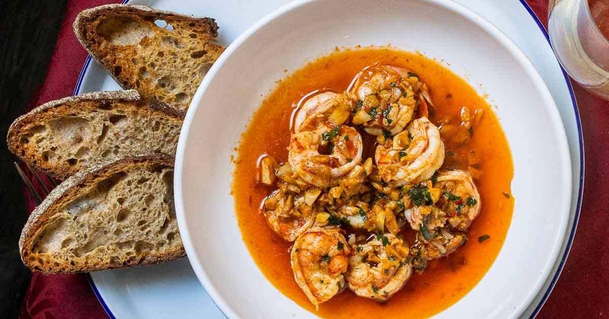 Gambas al Ajillo | Garlic Shrimp with a Tasty Kick