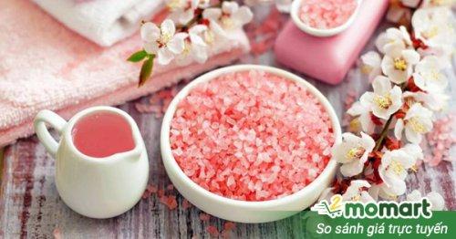 Cách sử dụng muối tắm tốt nhất giúp chăm sóc da toàn thân sạch khỏe