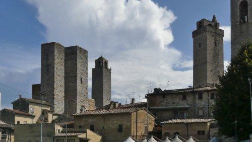 San Gimignano - mittelalterliches Manhattan in der Toskana