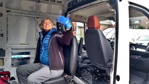 Beifahrersitz und Drehkonsole einfach einbauen - Van-Ausbau#2