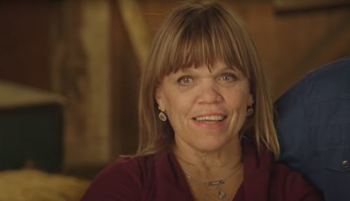 Amy Roloff Tries On White Wedding Dress with Plunging Neckline on 'Little People, Big World'