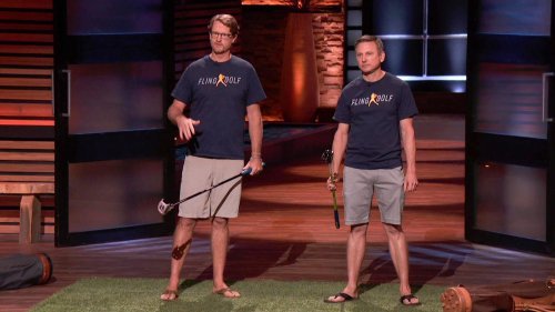 FlingGolf Pitches Robert Herjavec, Mark Cuban on Shark Tank
