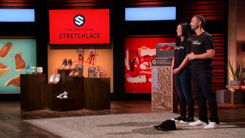 Stretchlace: Elastic Shoelaces Coupl Pitch Mark Cuban on Shark Tank