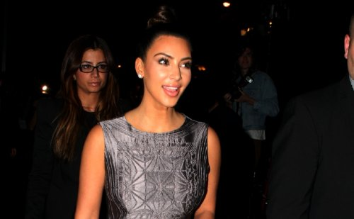 """Kim Kardashian Stuns In Skin-Tight Black Catwoman Suit, """"You See What You Wanna See"""""""