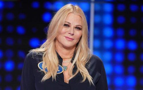 Rob Lowe's Wife Rocks Leather Pants, Body Jewelry on Celebrity Family Feud