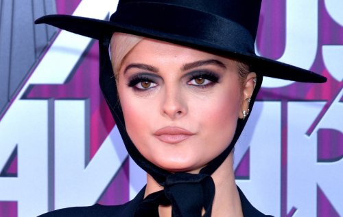 """Bebe Rexha Stuns In Sheer, Cut-Out Dress, """"Let My Freckles Out"""""""