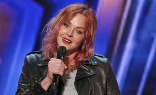 6-Foot-Tall Singer Storm Large Covers Up Tattoos On America's Got Talent